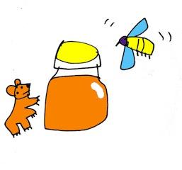 el oso y la miel